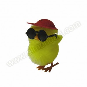 Chick in Baseball Cap & Sunglasses - 4pk