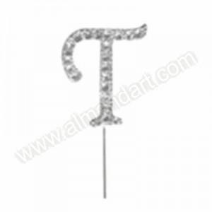 Letter T Diamante Pick