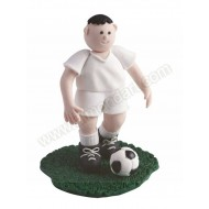 Footballer - White Shirt