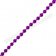 Purple Pearls On A String - 5mm x 1m