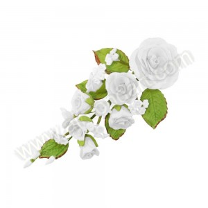 Sugar Rose Bouquet - White