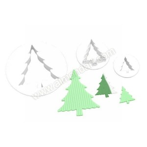 Christmas Tree Cutters - Set of 3