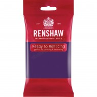 Renshaw Deep Purple Ready To Roll Icing - 250g