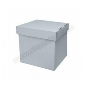 "12"" Stack 'n' Pack Cube Cake Box"
