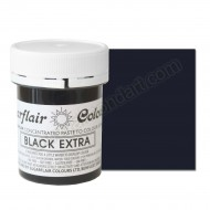 Sugarflair Black Extra Paste Colour - 42g
