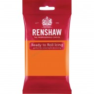 Renshaw Tiger Orange Ready To Roll Icing - 250g