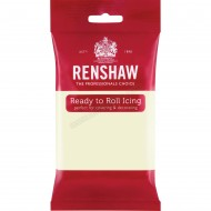 Renshaw White Chocolate Flavoured Ready To Roll Icing - 250g