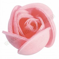 Small Pink Wafer Rose