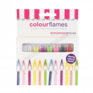 Colour Flames - 12pk