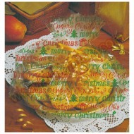 Merry Christmas Cellophane Basket/Plate Bags - 6pk