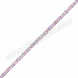 Pink - Metallic Dazzle Ribbon 3mm - Per Meter