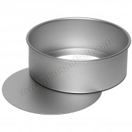 "10"" Round Loose Bottom Cake Pan"