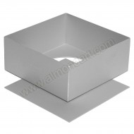 "6"" Square Loose Bottom Cake Pan"