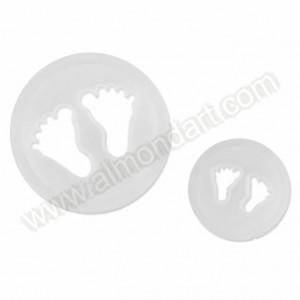 Baby Feet Cutters - Set Of 2