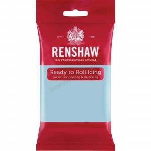 Renshaw Baby Blue Ready To Roll Icing - 250g