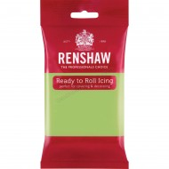 Renshaw Pastel Green Ready To Roll Icing - 250g