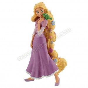 Rapunzel with Flowers - Cake Topper