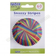 Snazzy Stripes - Cupcake Cases - 60pk