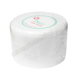 "6"" Round 4"" Deep Chamfered Edge Cake Dummy"