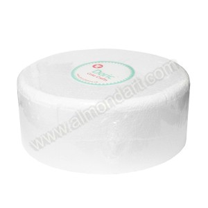 "10"" Round 4"" Deep Chamfered Edge Cake Dummy"