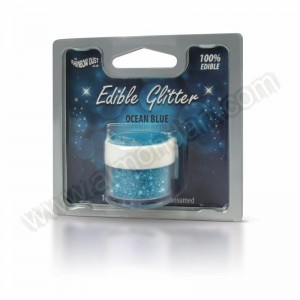 Ocean Blue - Edible Glitter