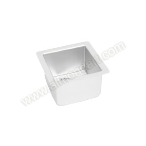"4"" Square Cake Tin - 3"" Deep"