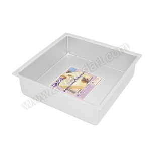 "10"" Square Cake Tin - 3"" Deep"
