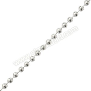 Silver Pearls On A String - 5mm x 1m