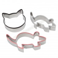 Cat & Mouse Cookie Cutter Set