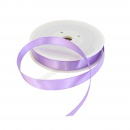 15mm Purple Double Sided Satin Ribbon - 25m Roll