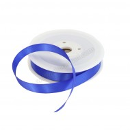 15mm Royal Blue Double Sided Satin Ribbon - 25m Roll