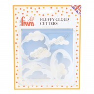 Fluffy Cloud Cutters - Set of 5