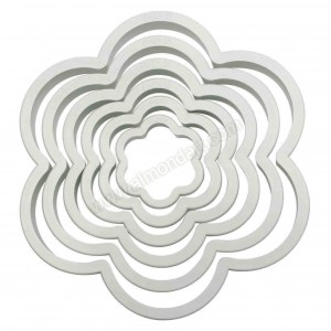 PME Flower Cutters - Set of 6