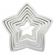 PME Star Cutters - Set of 6