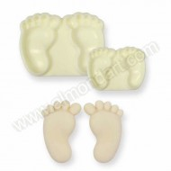Jem Easy Pops Mould - Baby Feet - Set of 2