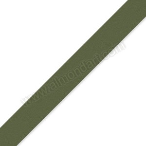 15mm Olive Green Double Sided Satin Ribbon - 1m