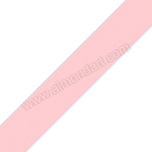 25mm Baby Pink Double Sided Satin Ribbon - 1m