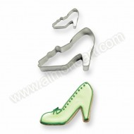 High Heel Cookie & Cake Cutters - Set of 2