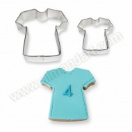 T-Shirt Cookie & Cake Cutters - Set of 2