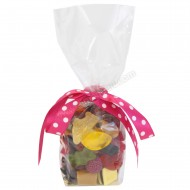 Clear Confectionery Bags 100mm x 220mm - 100pk