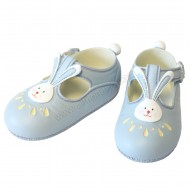 Resin Large Shoes Topper - Blue with Rabbit - A