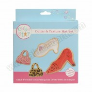 Bags & Shoes - Cutter & Texture Mat Set