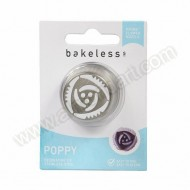 Bakeless Flower Nozzle - Poppy