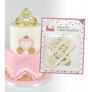 Princess Carriage Cutters - Set of 2