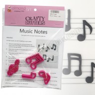Music Notes Cutter Set - 4pc