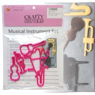 Musical Instruments Cutter Set - 5pc