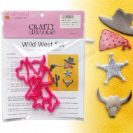 Wild West / Cowboy Cutter Set - 6pc