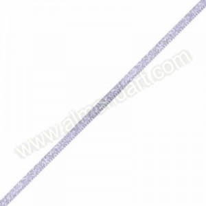 Lilac - Metallic Dazzle Ribbon 3mm - Per Meter