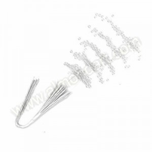 White Pearl Stems -12pk