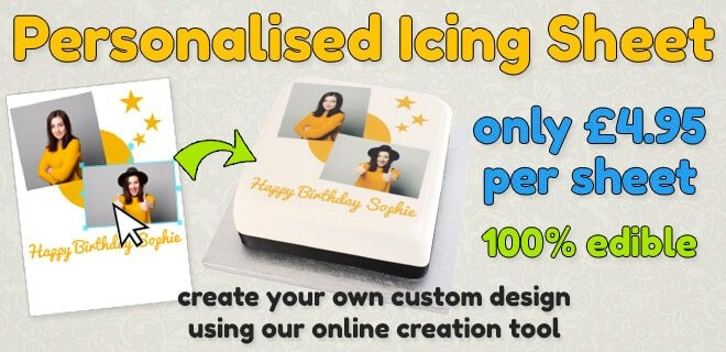 Design Your Own Icing Sheet - 100% Edible